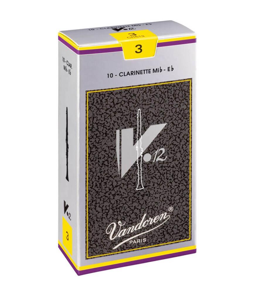 Caja de 10 cañas para clarinete mib Vandoren CR1135