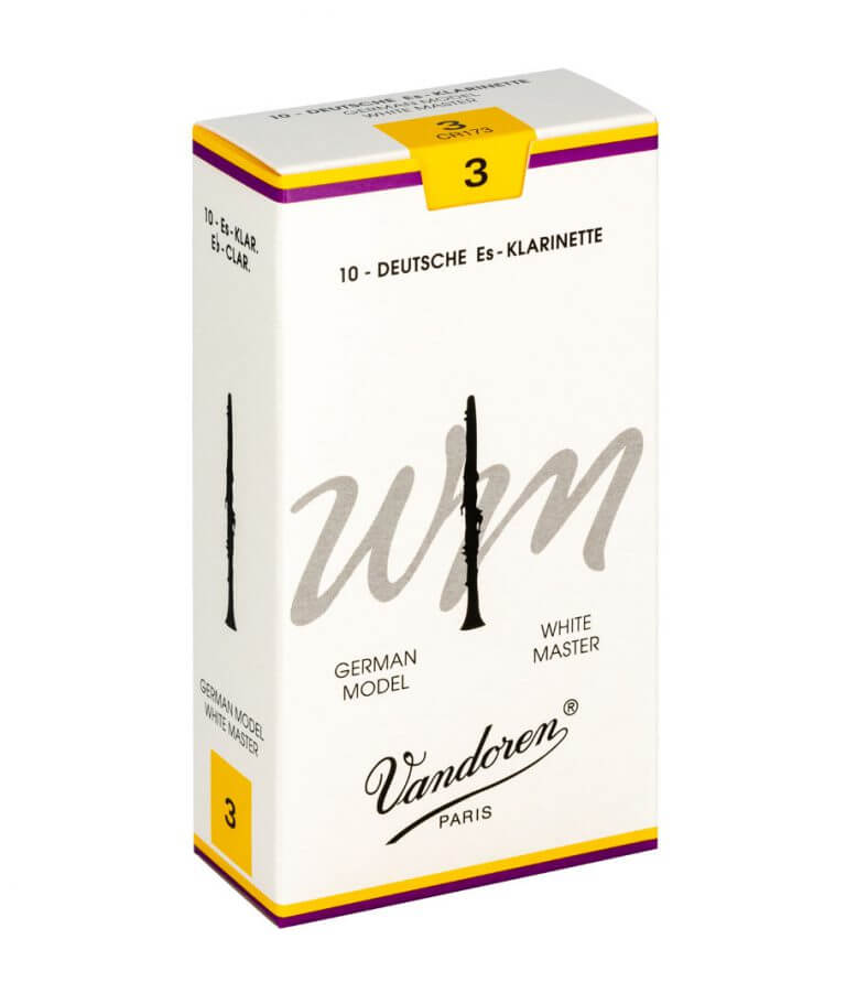 Various Strengths Vandoren Traditional Eb Clarinet Reeds Box of 10